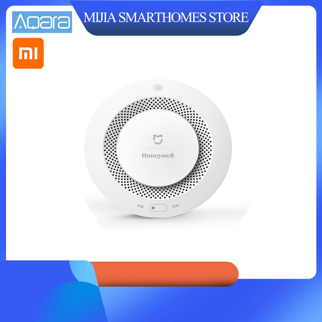 Xiaomi Mijia Home Alarm  Fire Alarm Detector Remote Control Audible Visual Alarm Notification Work With Mi Home APP