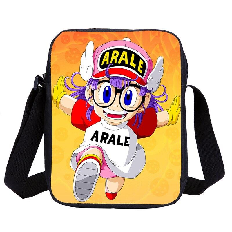 Anime Dr. Slump Arale Children Shoulder Bags Kid Casual Travel Bag School Girl Mini Handbag Bolsos Mujer Feminina Sac Main Femme