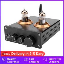 Amplificador bluetooth tubo pré-amplificador febre alta fidelidade 6j5 bile tubo de vácuo preamp jrc5532 pré amplificador tom placa controle