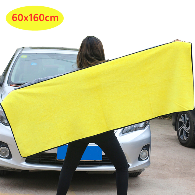 1/3/5 pcs Microfiber Car Cleaning Cloths Professional Detailing Car Wash Towel Car Drying Microfiber Towel Auto Accessories