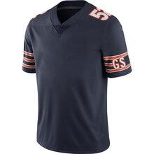 Customized Stitch Jersey Mens American Football Chicago Fans Jerseys FIELDS URLACHER BUTKUS DITKA Jersey