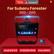 Junsun V1 Android 9.0 2G + 32G DSP Mobil Radio Pemutar Video Multimedia untuk Subaru Forester 2013-2015 GPS Navigasi 2 Din Autoradio(China)