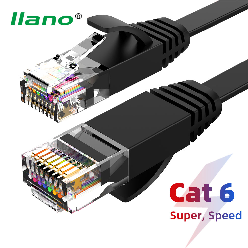 Llano Cat6 Ethernet Cable RJ 45 Lan Cable UTP CAT Network Utp Cable 1m/3m/5m/8m Patch Cord For Laptop Router RJ45 Network Cable