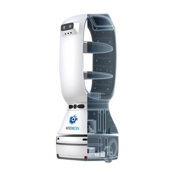 Cena do negocjacji gorący produkt ODM OEM T1 Robot dostawy do biura restauracji tanie i dobre opinie NoEnName_Null CN (pochodzenie)