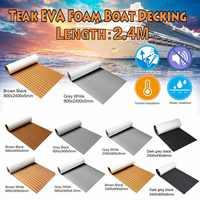 Neueste Selbst-Klebe EVA Schaum Boot Marine Boot Bodenbelag Faux Boot Teak Decking Blatt Zubehör Marine 8 Arten