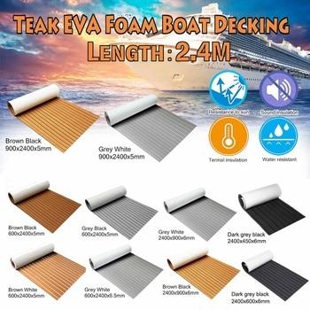 Newest Self-Adhesive EVA Foam Boat Marine Boat Flooring Faux Boat Teak Decking Sheet Accessories Marine 8 Styles