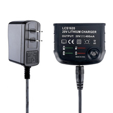 20V Lithium Battery LCS1620 Charger ForFor BLACK&DECKER 20V Li-ion Batteries fast charger replacement for porter cable 20v max lithium ion battery and black