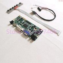 Pour N156HGE LA1/LB1/LG1/L11/L21 HDMI VGA panneau LCD pour ordinateur portable WLED 40 broches LVDS M.NT68676 contrôleur décran carte dentraînement 1920*1080 kit