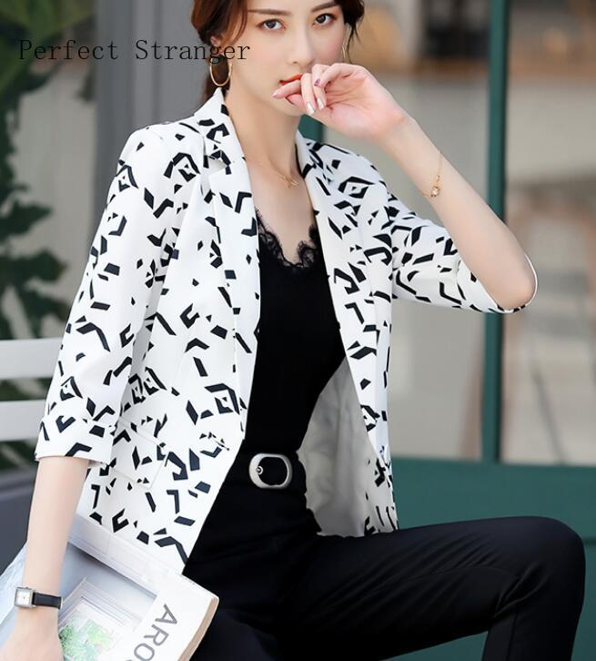 2020 Spring Summer New Arrival Leisure Hot Sale Turn-down Collar Long Sleeve Women Suit Coat