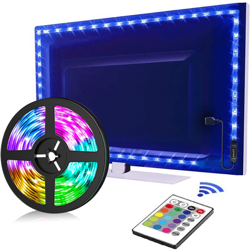 Led Strip Rgb 5050 2835 Verlichting Strip Bluetooth Controle Usb 5V Flexibele Lamp Tape Diode Festival Fita Slaapkamer Tira Luce