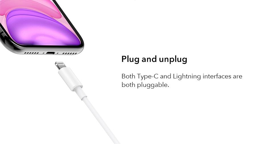 Mi Type-C to Lightning Cable 1m