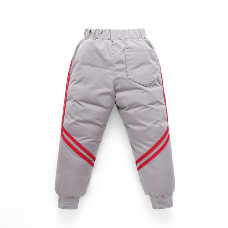 Thicken Winter Pants For Baby Boys Girls High Waist Warm Children Clothes Waterproof Kids Boy Fashion Trousers Baby Long Pants 6