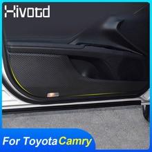 Dla Toyota Camry 2020 podkładka chroniąca przed kopaniem drzwi samochodu mata antypoślizgowa ochrona przed zabrudzeniem pokrywa akcesoria do wewnętrznego drzwiowego pcv