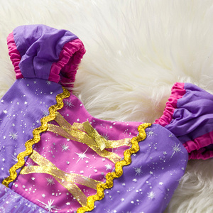 Image 2 - Toddler Baby Girls Rapunzel Sofia Princess Costume Halloween Cosplay Clothes Toddler Party Role play Kids Fancy Dresses For Girl