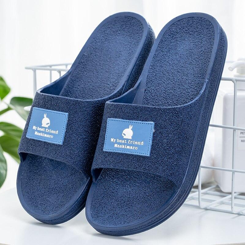 Slipper Men's Home Anti Slip Thick Bottomed Couple Slipper Men In Summer Sandalias Men Shoes