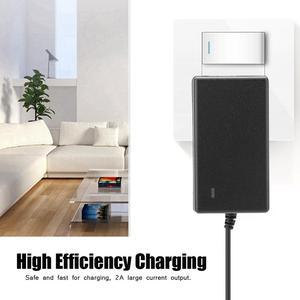 Image 3 - Зарядное устройство для литий ионных аккумуляторов, 21 в, 2 А, 100 240 В