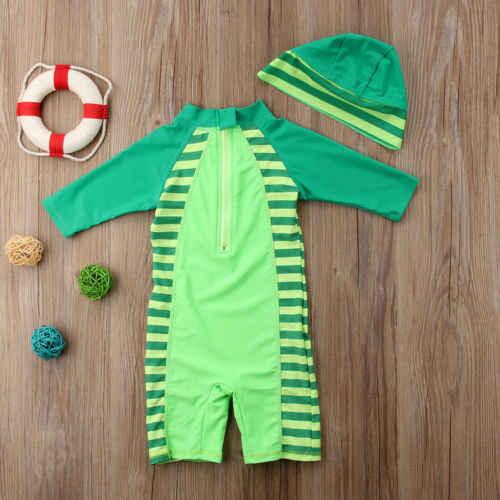جديد طفل واقية ملابس السباحة طفح الحرس ملابس السباحة الصبي السباحة الاستحمام طفل واقية طفح الحرس ملابس السباحة الصبي ملابس السباحة