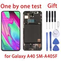 5.9″ For Samsung Galaxy A40 Display LCD Screen&Digitizer Full Assembly&Frame For A40 SM A405FN/DS SM A405F/DS SM A405FM/DS