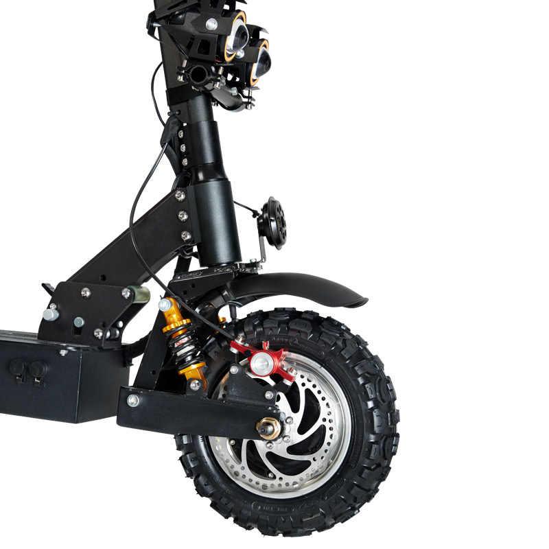 GUNAI חשמלי קטנוע 11 אינץ 60V 24Ah 3200W כפול כונן מנוע קטנוע מבוגר מקסימום מהירות 85 km/h עם להסרה מושב