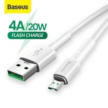 Câble Micro USB Baseus pour OPPO 4A VOOC câble de charge rapide câble de chargeur Micro USB pour Samsung Note 4 Xiaomi Pixel 2 cordon de données