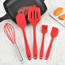 Kitchen Accessories Cooking Fish Frying Scoop Set Fried Shovel Silicone Turners Spatula Tools Utensils