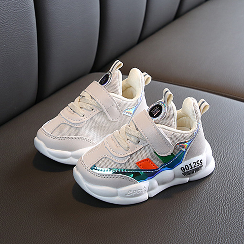 New Children's Baby Sports Fashion Sneakers Running Shoes Boys And Girls Toddler Mesh Casual Leisure Shoes For Baby Sneakers