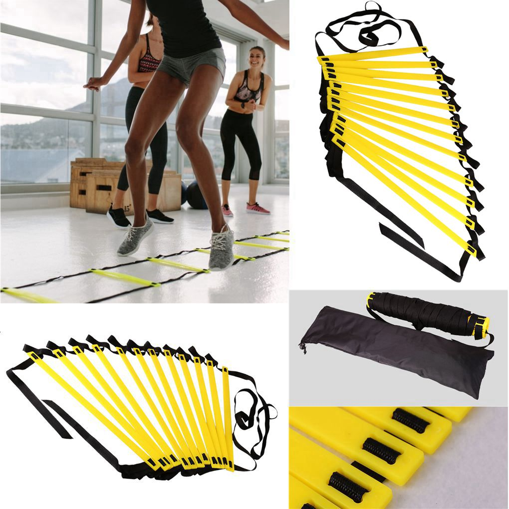 Agility Speed Ladder Stairs Nylon Straps Training Ladders Agile Staircase for Fitness Soccer Football Speed Ladder Equipment 1