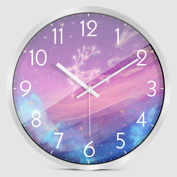 Glass Creative Wall Clock Modern Bedroom Large Kitchen Wall Clocks Thick Watches For Kitchen Living Room Watch Decor New II50WC