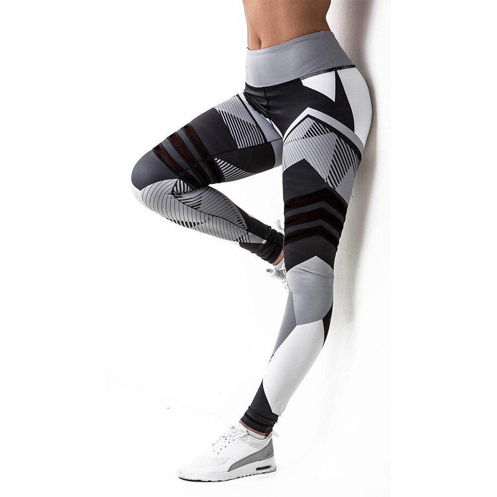 BEFORW 2020 Fashion Polyester Digital Printing Leggings Plus Size Women Sexy Workout Black Leggings Camouflage Camo Pants 4