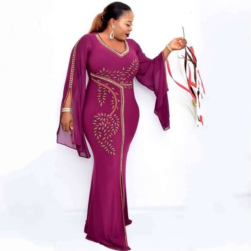African Long Maxi Dresses For Women Robe Africaine 2020 African Clothing Dashiki Fashion Cloth Party Dress Africa Clothing