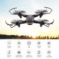 XS809S Drone With Wide Angle HD 1080P Camera Helicopter WIFI FPV Hight Hold Mode Foldable Arm RC Quadcopter Dron Gift Toy