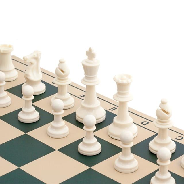Jeu d'échecs médiéval 64/77/97mm, plateau magnétiques très pratique 3