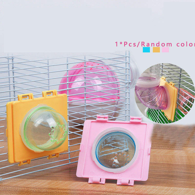Hamster Tunnel Cage Tunnel External Pipe Interface Fitting Small Pet Toy Cages Accessories Baffle Random Color