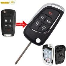 Shell-Case Remote-Control-Key Flip-Car Caprice Cruze Malibu Camaro Impala Sonic Chevrolet Equinox
