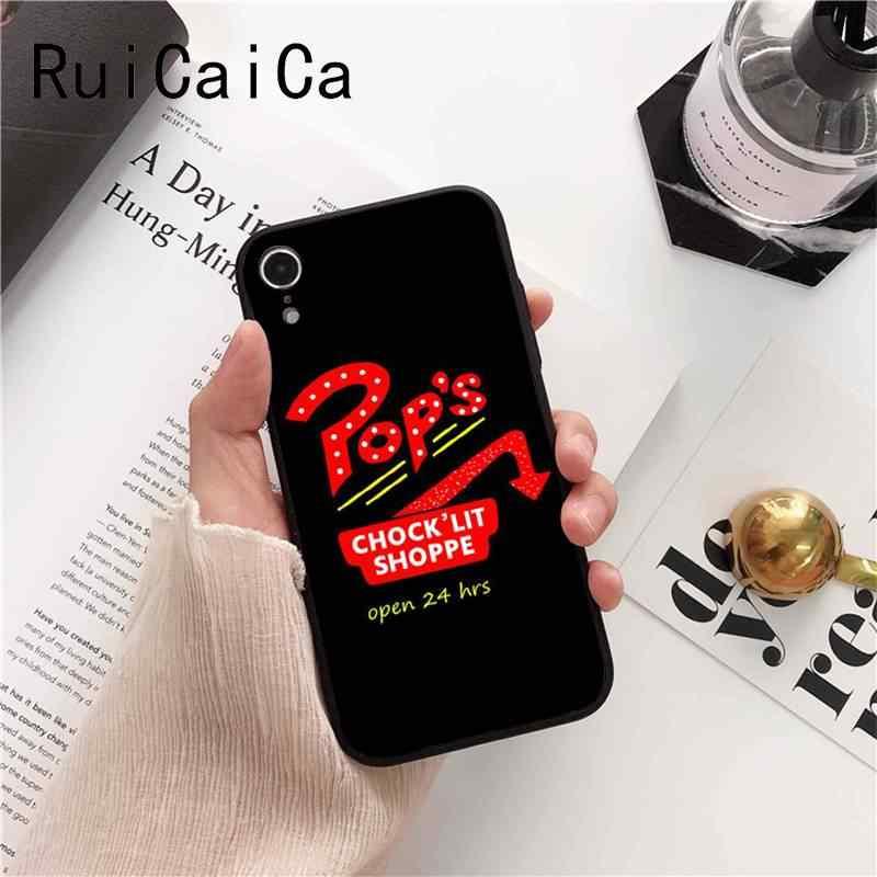 Ruicaica Американский ТВ ривердейл серии Cole Sprouse Красочный милый чехол для телефона iPhone 8 7 6S 6Plus X XS MAX 5 5S SE XR 10