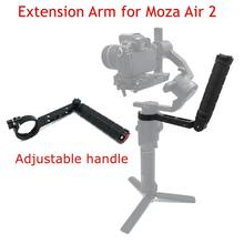 T1-Pro Inverted Handle Adjustable Mounting Extension Arm Monitor Microphone Holder for Moza Air2 Video Gimbal Camera Accessories