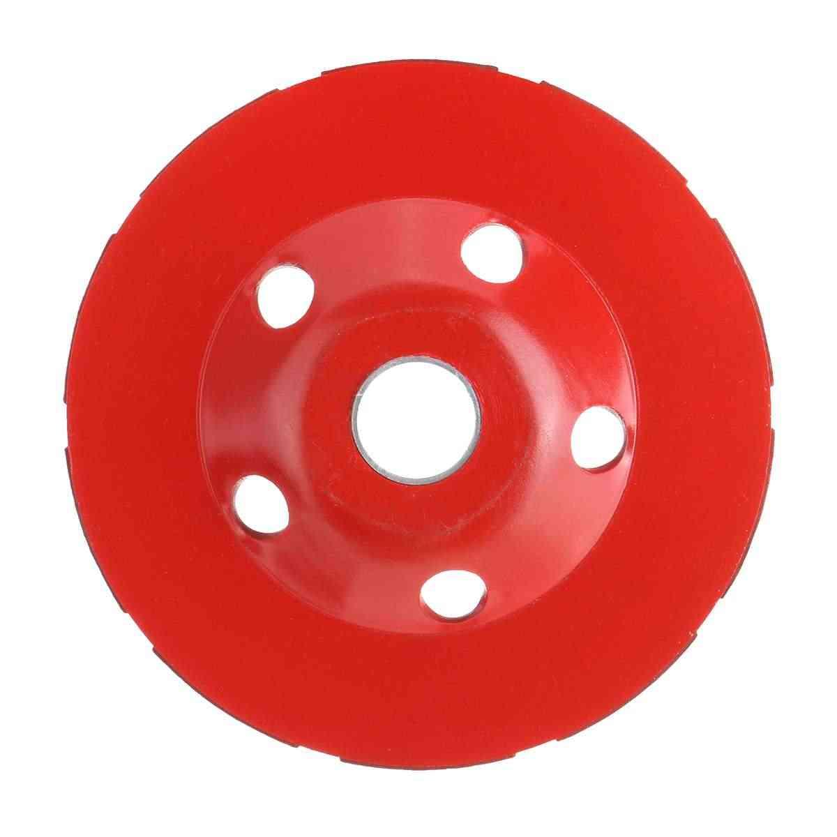 Doersupp Diamond Grinding Wheel Disc Bowl Shape Grinding Cup Angle Grinder Grinding Dust Shroud Concrete Granite Stone Ceramic