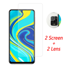 Camera Lens Protector For Redmi Note 9S Tempered Glass Redmi Note 9S 8T 8 Pro 7A Screen Protector For Xiaomi Redmi Note 9S Glass