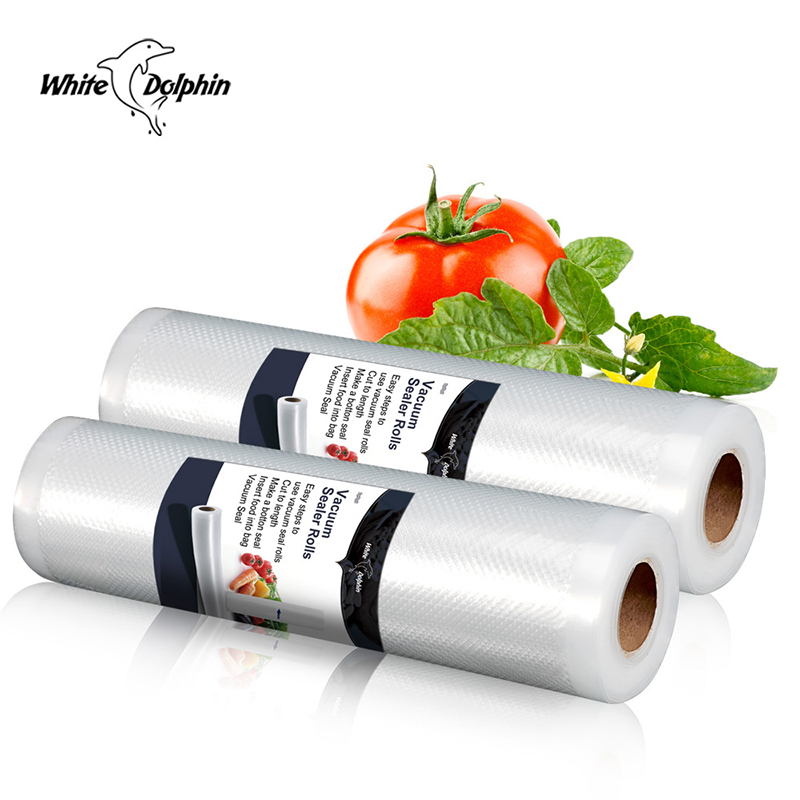 Home Kitchen Vacuum Sealer Food Saver Storage Bags Packaging Film Fresh Long Time Food Vacuum Sealer Packaging Machine
