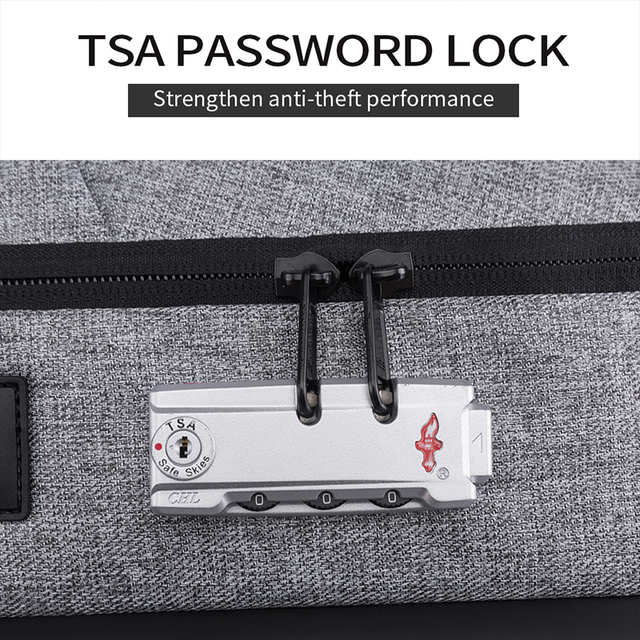 Bange Men Business Backpack Multifunction USB Charging 15.6 Inch Anti thief Laptop Bag Large Capacity Waterproof Travel Bags 5