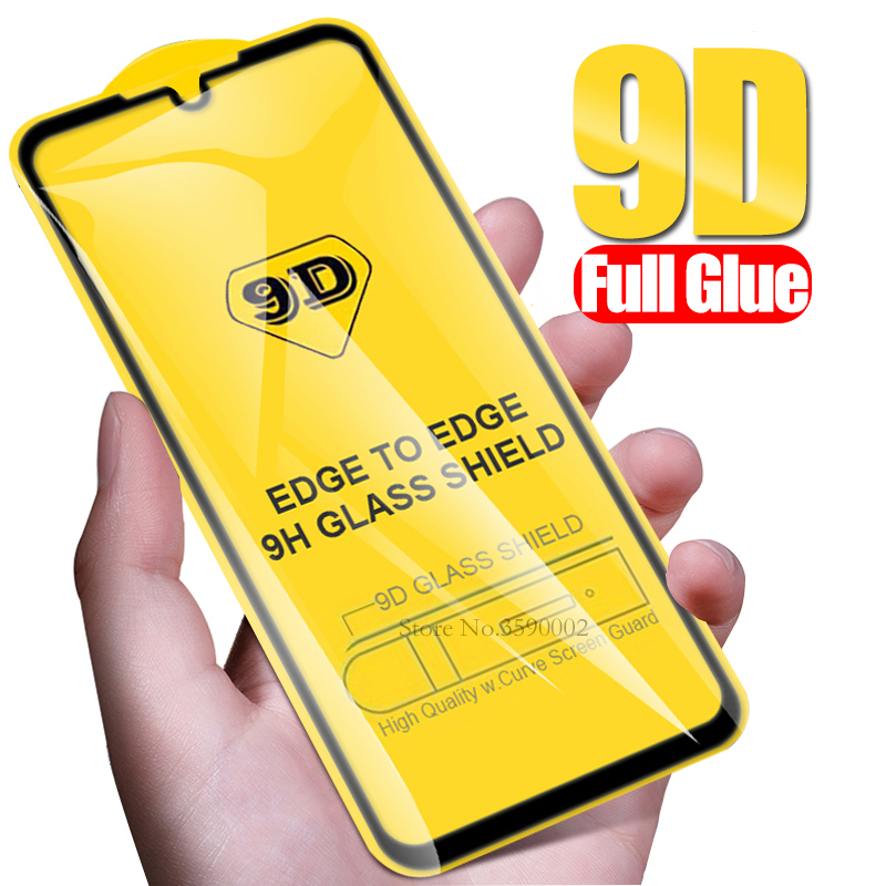 9D Full Glue Protective Glass For Xiaomi Redmi Note 8 Pro Tempered Glass On Redmi Note 8t 8 T Note8 Safety Screen Protector Film