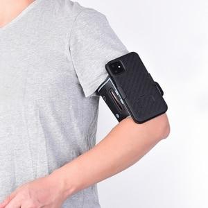 Image 2 - スポーツケース腕章 iphone 11 pro x xr xs 最大カバー運動電話ホルダーアームバンドキックスタンドバックケースシェル