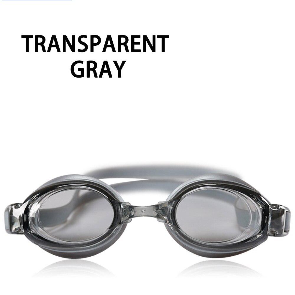 Оптическая близорукость плавательные очки 200-800 градусов Силиконовые противотуманные водная диоптрия плавательные очки для мужчин и женщин очки по рецепту - Цвет: Gray