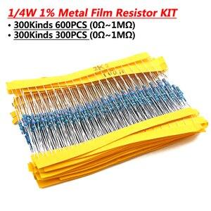 24valuesX10pcs = 240 шт. 1/4 Вт 0,25 1% 4,7 k-68 k металлического пленочного резистора набор компонентов «сделай сам» посылка Новый и оригинальный
