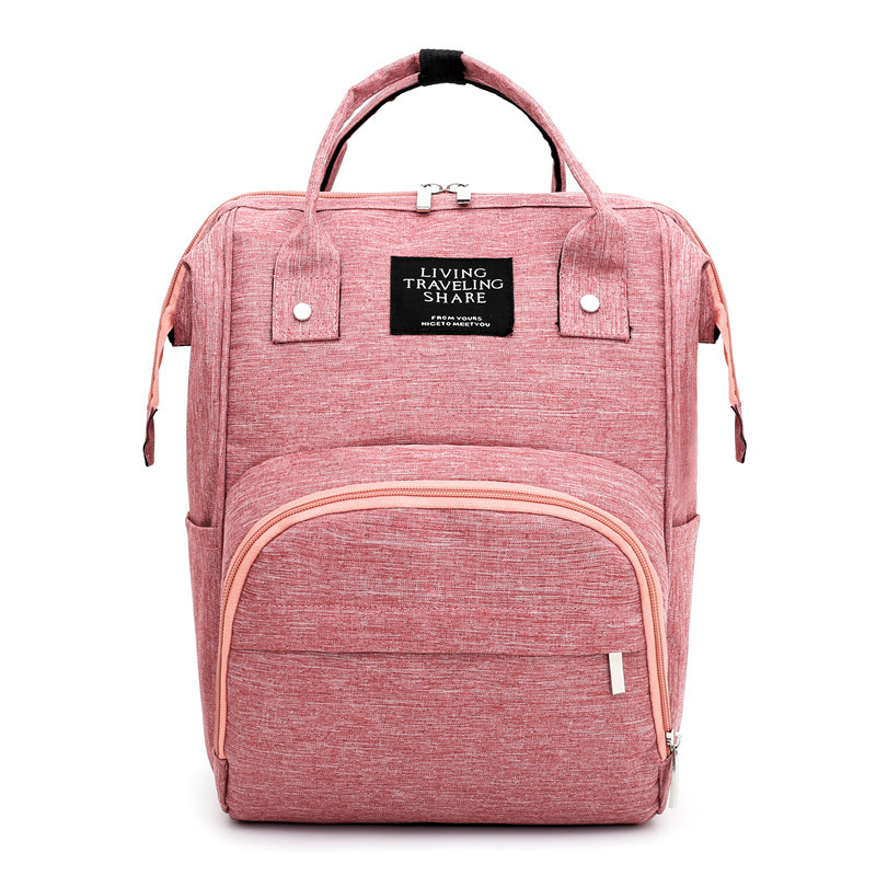 Diaper Bag Multifunctional Mummy Bag Fashion Casual Backpack Large Capacity Baby Bag Waterproof Outgoing Maternity Bag
