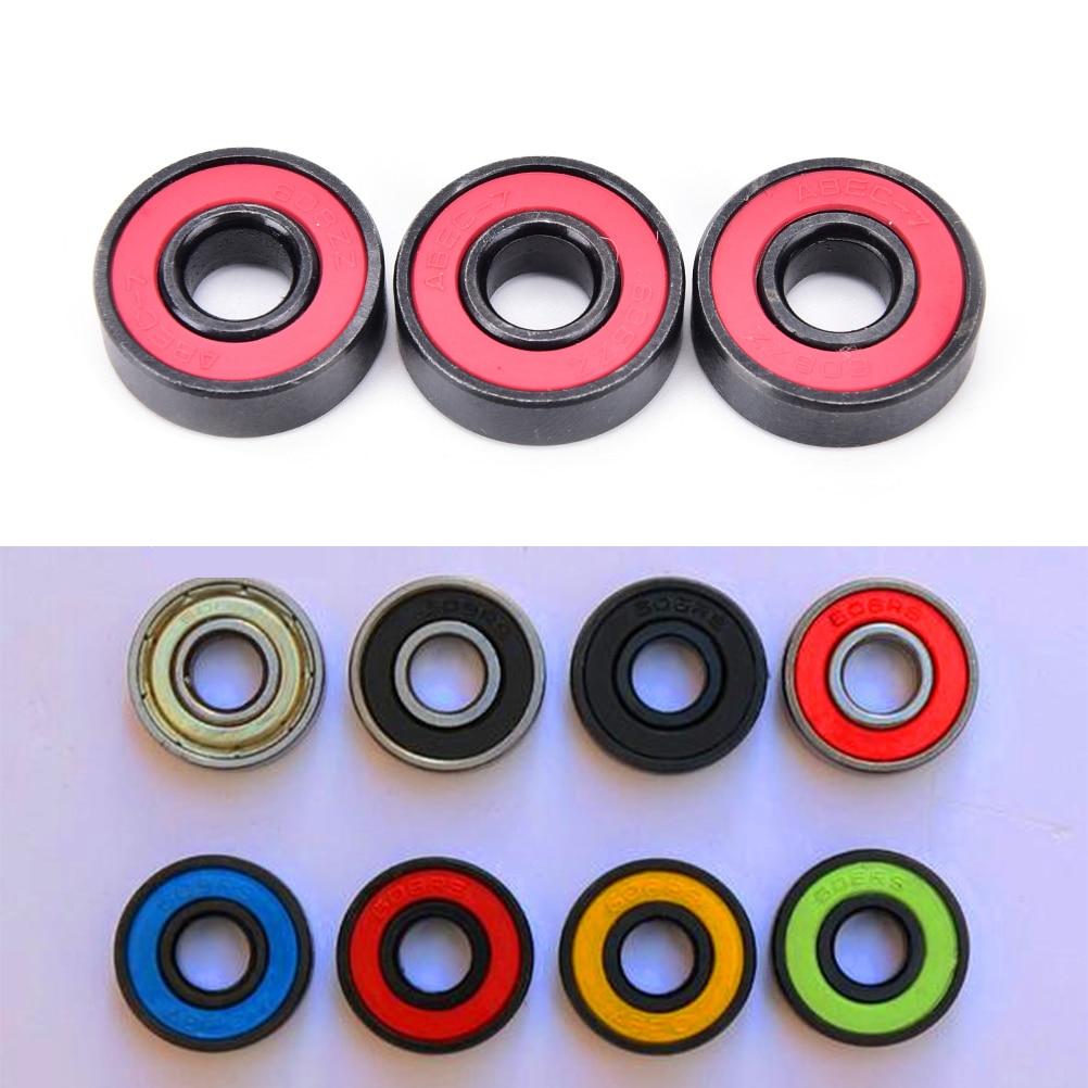 608zz Ceramic Speed Wheels Bearings 7*8*22mm Random Color 1PC