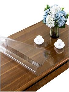 Tablecloth Transparent Oil-Proof Clear Rectangular Soft Glass Dining Kitchen PVC Matte