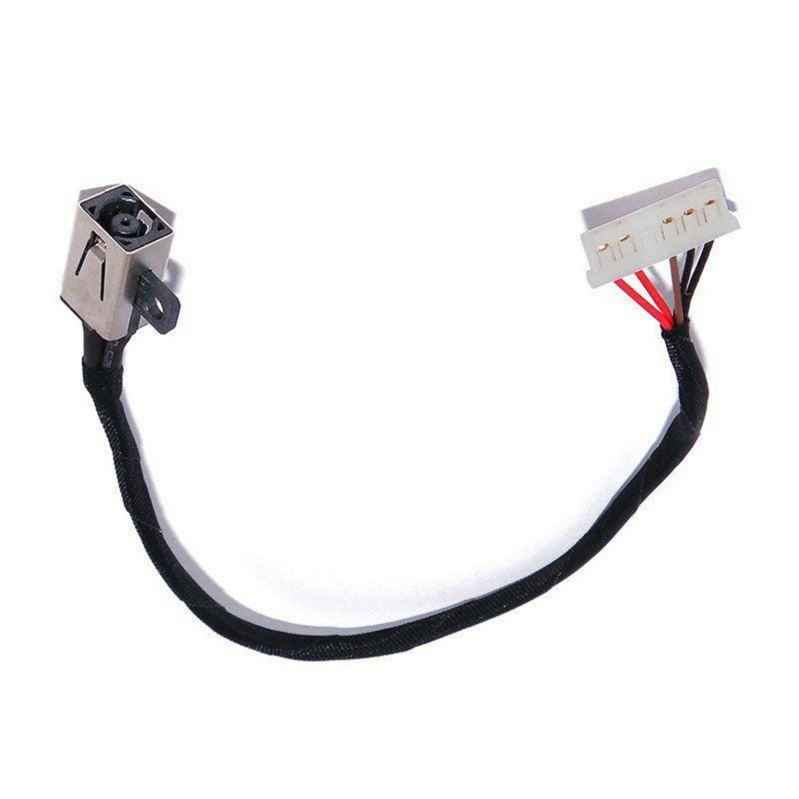DC POWER JACK W/ Cable Harness Fits FOR Dell Vostro 14 3468 15 3568 3562 3578 P63F