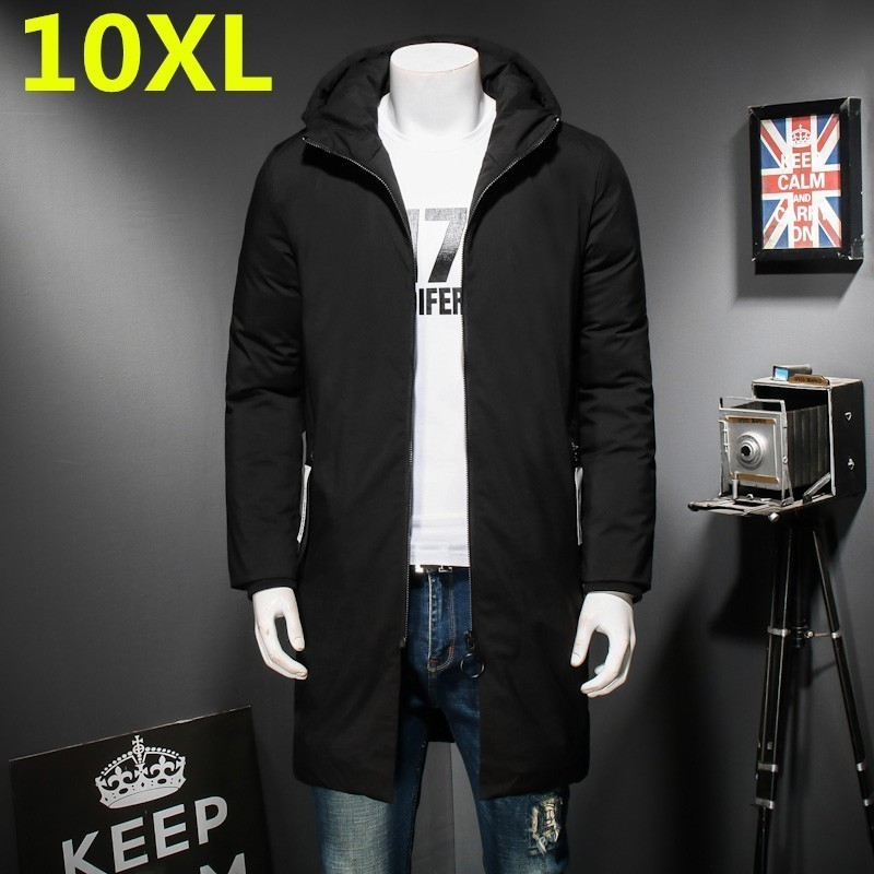 10XL 9XL 8XL Plus Size  Top Quality Warm Men's Warm Winter Jacket Windproof Casual Outerwear Thick Medium X-Long Coat Men Parka