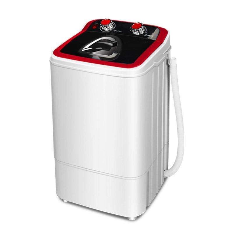 220V Mini Portable Washing Machine UV Blue Light Sterilization Semiautomatic Washer And Dryer Machine For Clothes Washer